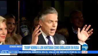 noticias, forotv, Trump, nomina, Jon Huntsman, embajador en Rusia