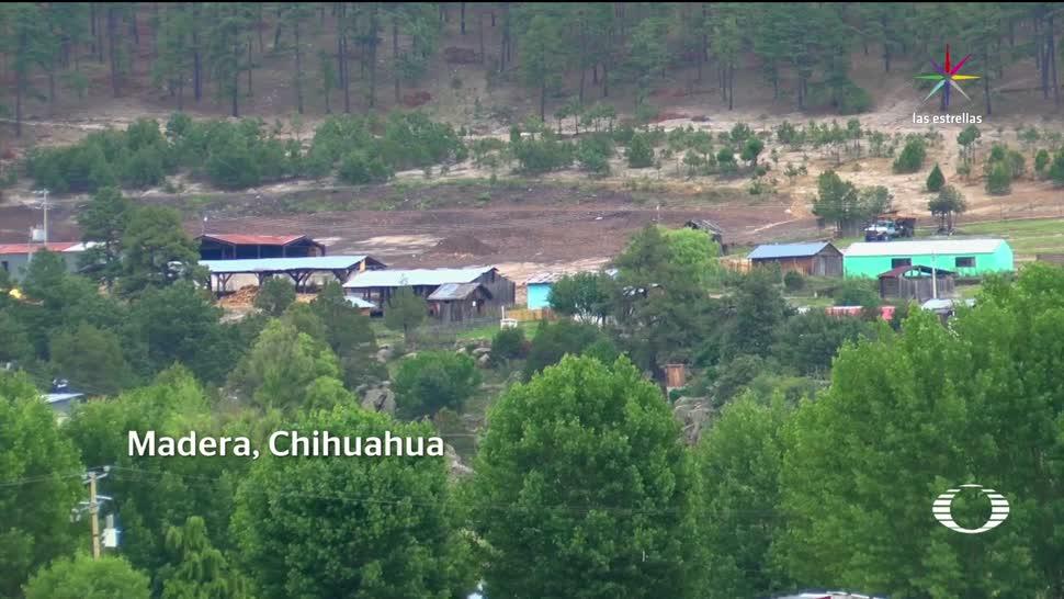 noticias, televisa, Las Varas, pueblo fantasma, Chihuahua, enfrentamiento