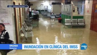 noticias, televisa, Inundación, clínica del IMSS, Orizaba, Veracruz