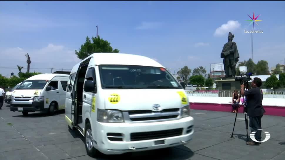 noticias, televisa, Rutas, transporte en Neza, colocan, rastreadores satelitales
