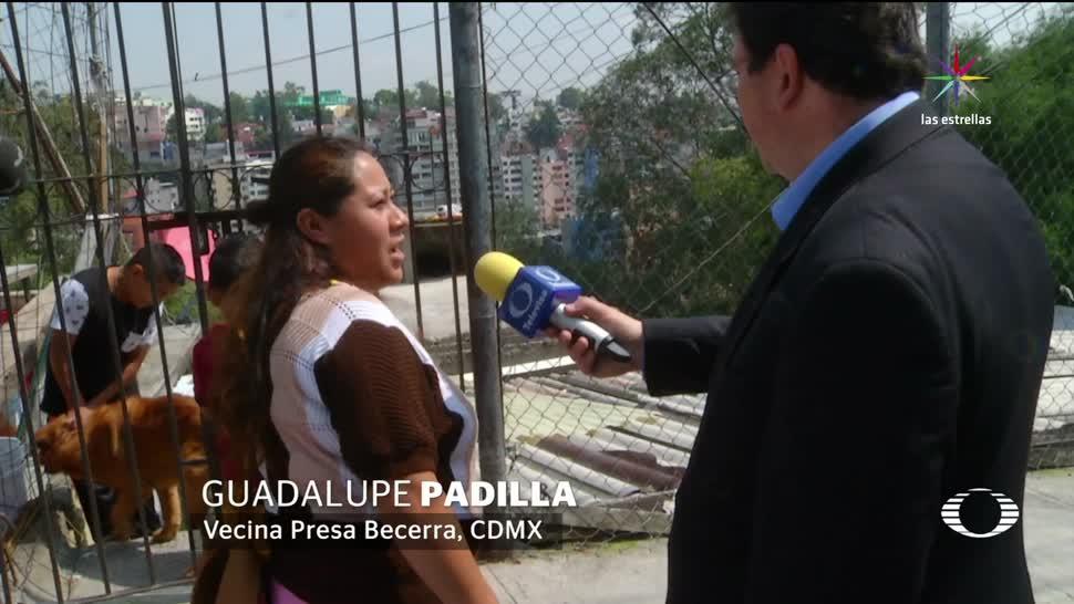 noticias, televisa, Un basurero, barrancas, Presa Becerra, Álvaro Obregón