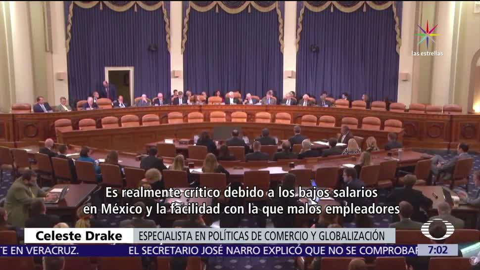 Académicos, expertos, empresarios de EU, condiciones laborales, México