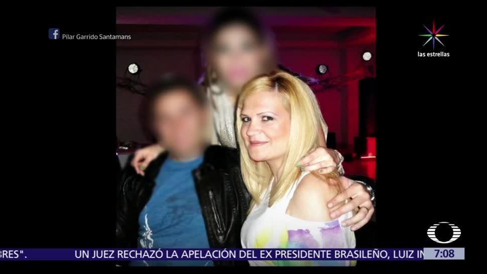 Pilar Garrido, ciudadana española, Tamaulipas, grupo armado