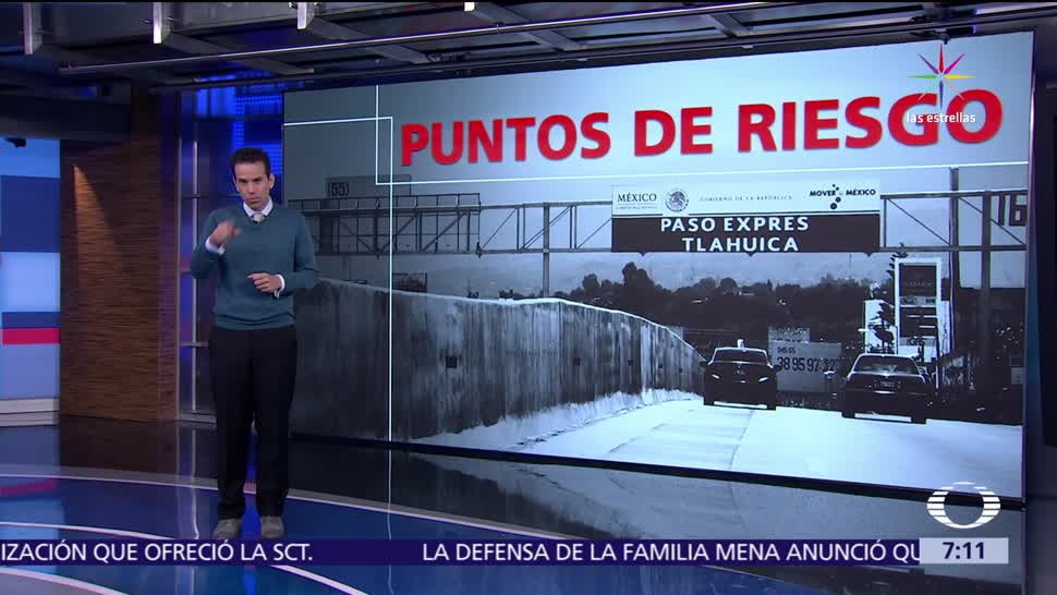 fallas en el Paso Express, autopista México-Acapulco, zonas cercanas, multiplican
