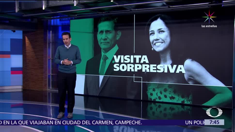 Ollanta Humala, expresidente de Perú, la prisión preventiva, caso Odebrecht