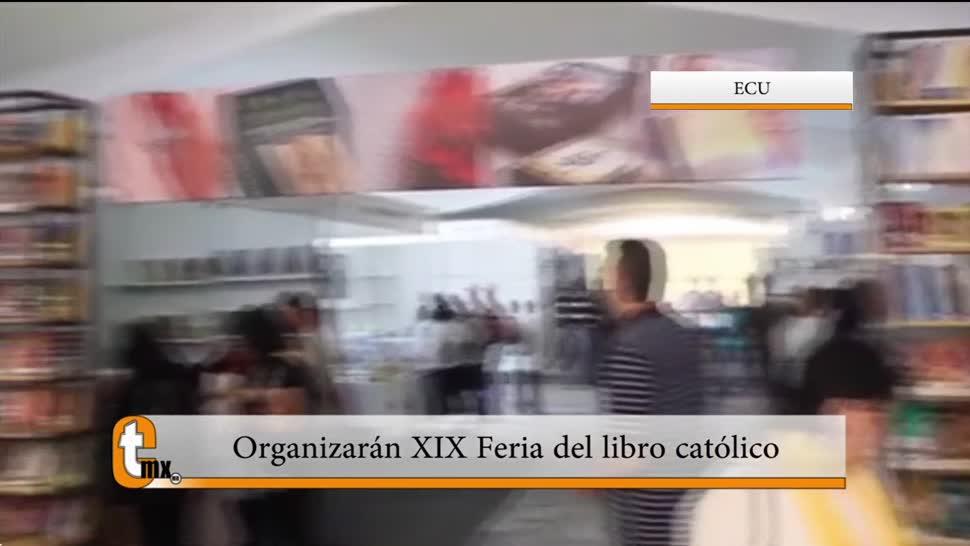 Esteban Arce, reportaje, organización, Feria del Libro Católico