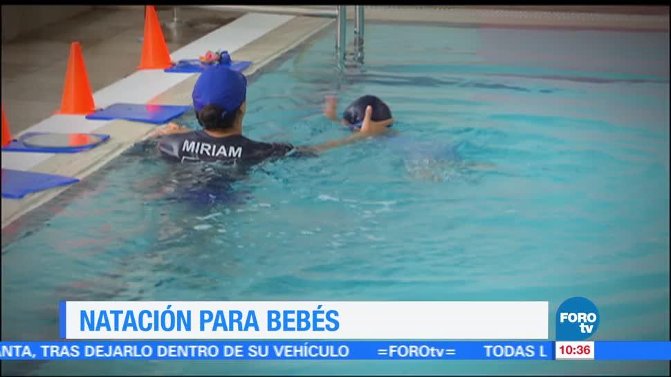 Ulises de la Torre, segunda parte, reportaje, natación para bebés
