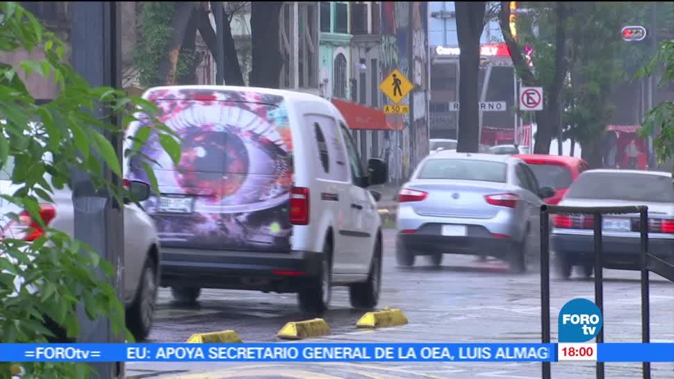 Llueve, CDMX, Tlalpan cae, granizo, ciudad de méxico, afectaciones
