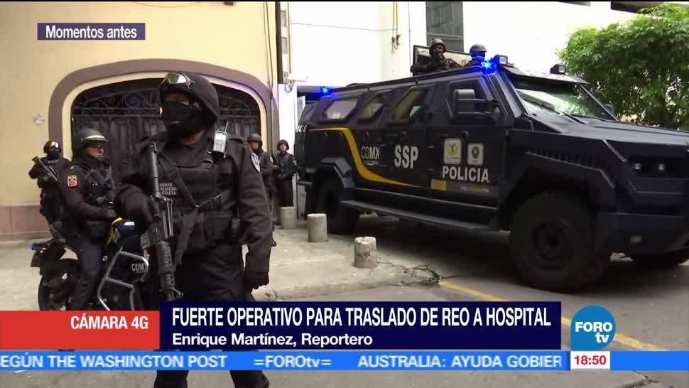 Llevan, hospital, interno, Reclusorio Oriente, Traslada, Ciudad México