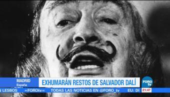 Exhumarán, restos, Salvador, Dalí, muestra adn, pilar abel