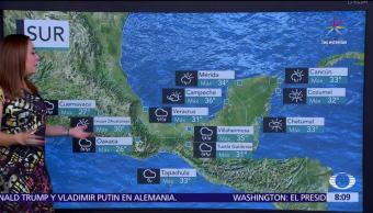 Condiciones Climatologicas, El Clima, Raquel Mendez, Pronostico Del Tiempo