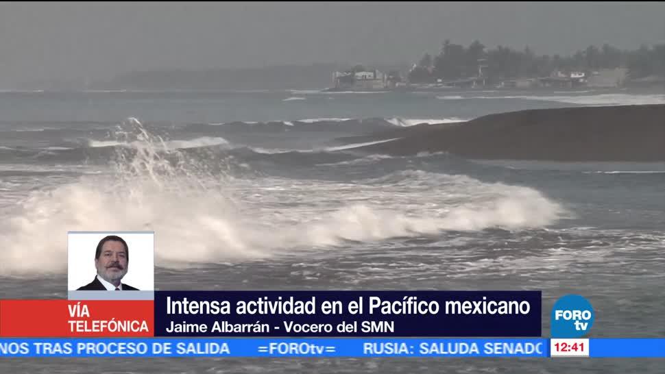 Jaime Albarrán, Servicio Meteorológico Nacional, fenómenos meteorológicos, Pacífico mexicano