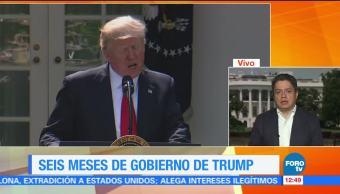 Ariel Moutsatsos, corresponsal en Washington, primeros seis meses, Donald Trump, presidente de Estados Unidos-