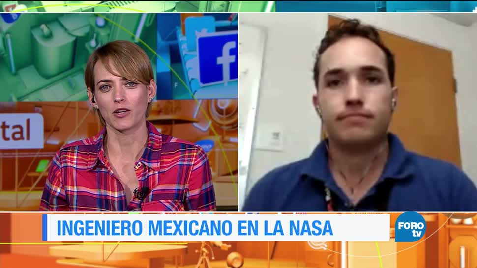 ingeniero mexicano, trabaja, NASA, Marte