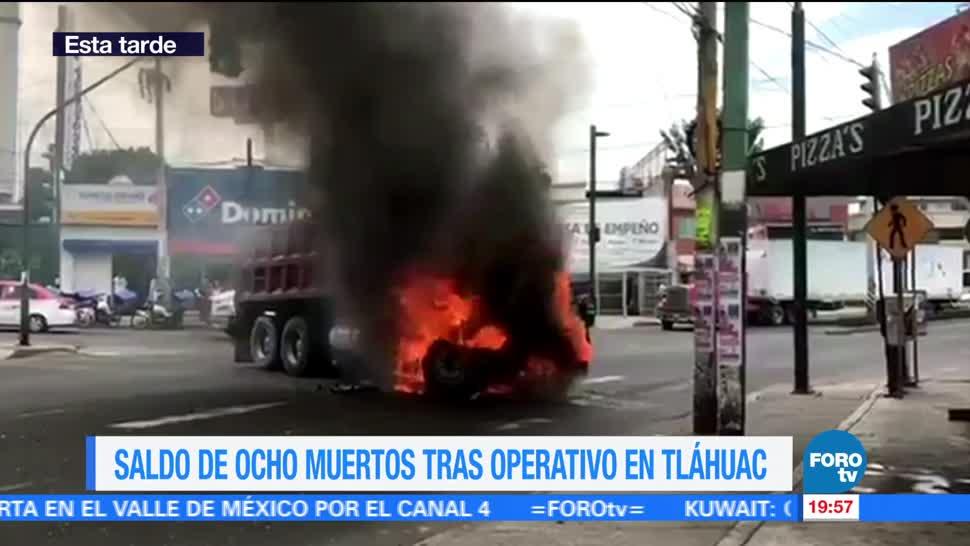 Noticias, forotv, Crónica, enfrentamiento, Tláhuac, El Ojos