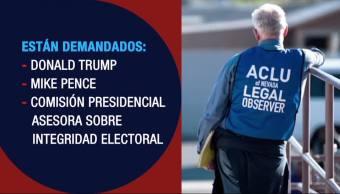 notias, forotv, Demandan, Trump, solicitar, datos de electores