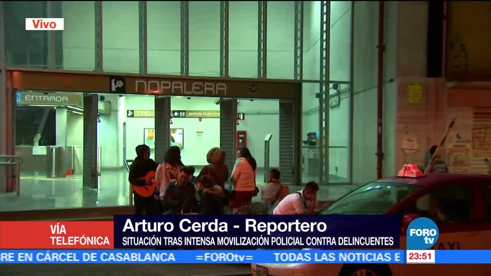 noticias, televisa, Continúa, operativo, transporte público, Tláhuac