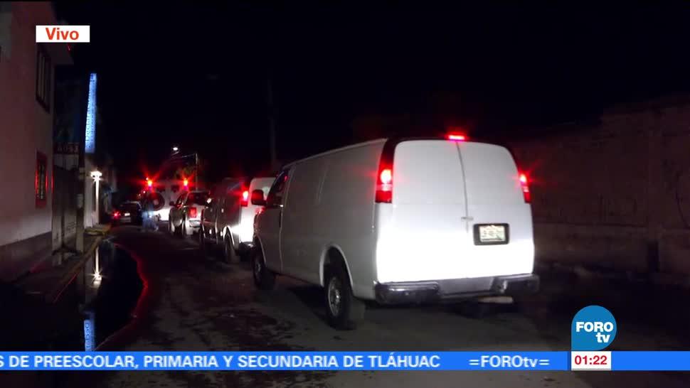 noticias, forotv, Concluyen, diligencias, servicios periciales ,operativo en Tláhuac