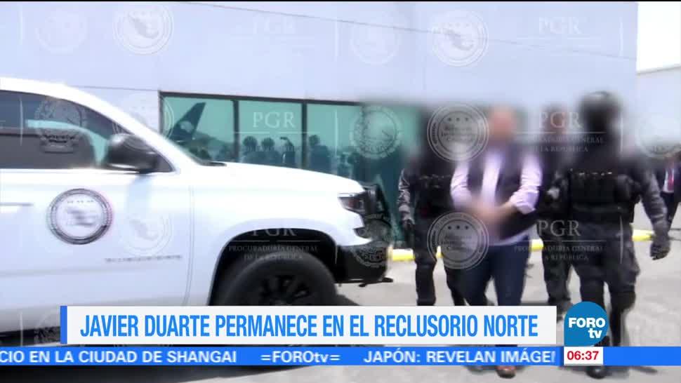 noticias, televisa, Javier Duarte, permanece, Reclusorio Norte, Duarte