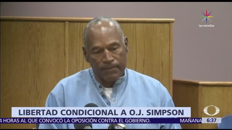 noticias, televisa, O.J. Simpson, saldrá de prisión, octubre, 9 años en prisión