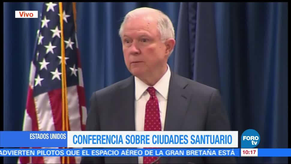 noticias, forotv, Jeff Sessions, criminalidad, Estados Unidos, prevenir el crimen