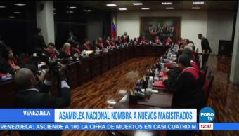 noticias, forotv, Parlamento, Venezuela, 13 magistrados, Parlamento de Venezuela