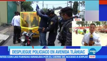 Regresa La Calma, Delegacion Tlahuac, Enfrentamiento, Cdmx