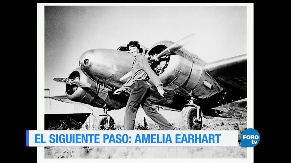Historia, Amelia Earhart, Primera Mujer, Cruzar El Oceano Atlantico,