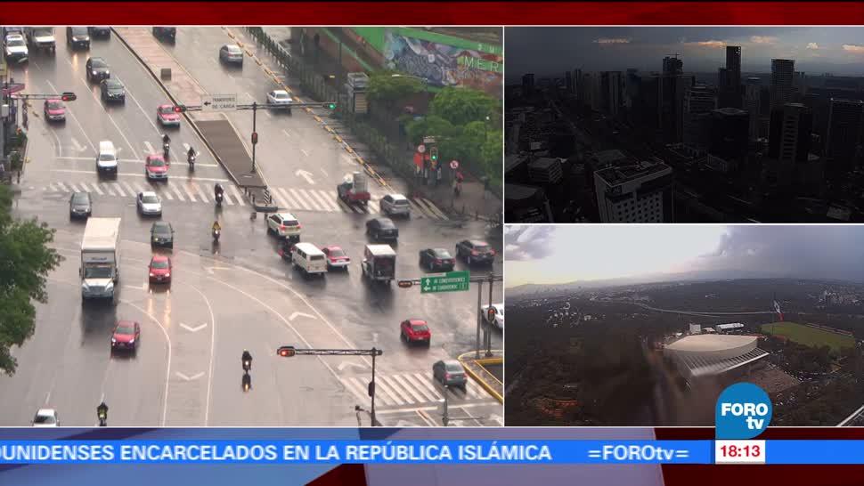 Autoridades Capitalinas, Activa Alerta Amarilla, Lluvias, CDMX
