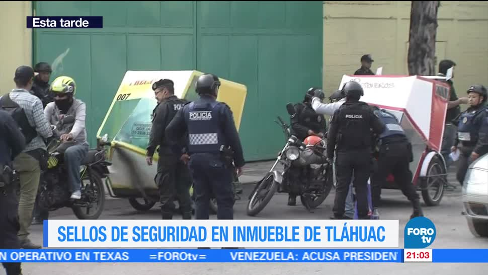 Segundo Día Operativo Enfrentamiento Tlahuac Presencia policiaca Patrullajes