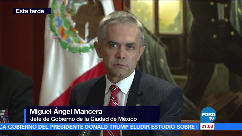 Mancera, Se Reúne, Secretario Marina, Vidal Francisco Soberón, Secretario de Marina, Operativo enfrentamiento