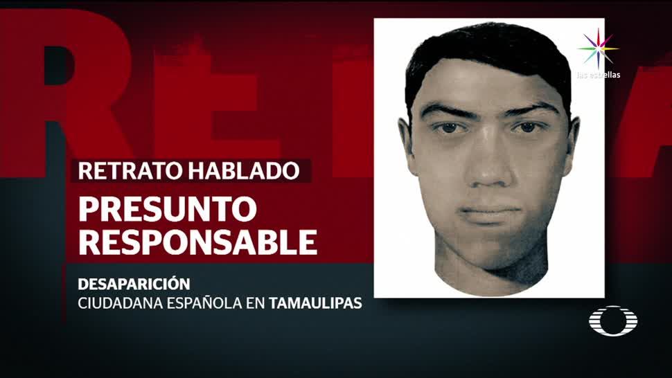 Presentan, Retrato, Hablado, Presunto, Agresor, Española Tamaulipas