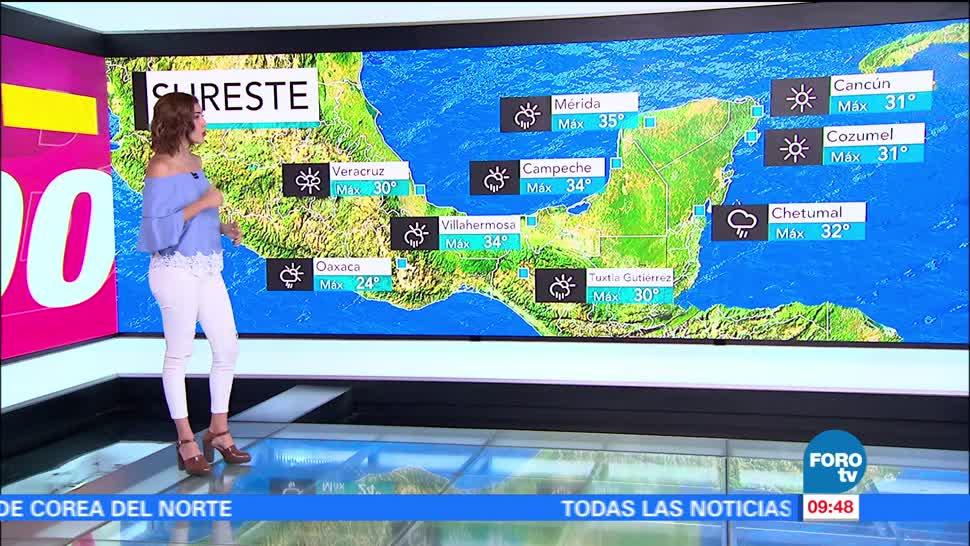 El Clima, Daniela Alvarez, Temperaturas, 40 Grados