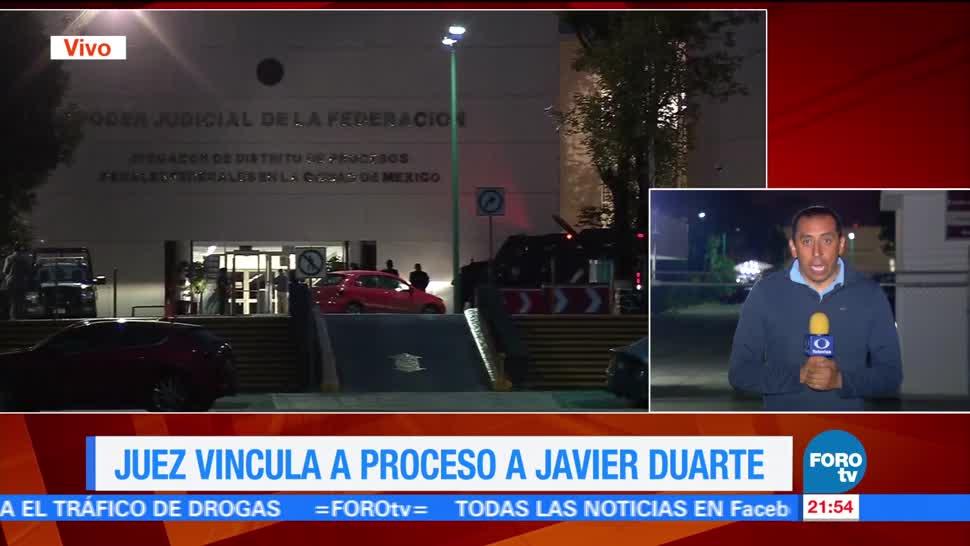 Vinculan Proceso Duarte Delincuencia Organizada Lavado Dinero Situación Legal Exgobernador Veracruz