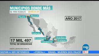Aumenta, Robo De Vehiculos, Mexico