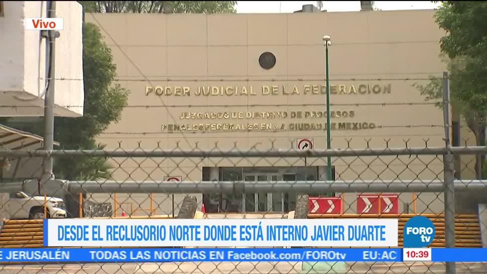 Reclusorio Norte, Exgobernador De Veracruz, Javier Duarte, Interno