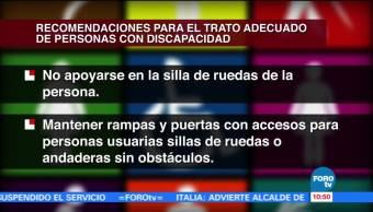 Agenda Discapacidad, Rafael Ortega, Trato Adecuado, Personas Con Discapacidad