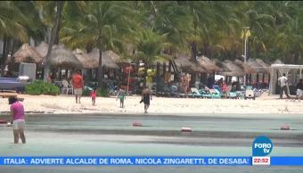 Turistas,Visitan Playas Quintana Roo Playa Secretaria Turismo