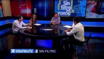 Sin Filtro, Genaro Lozano, Programa del 23 de julio, 2017