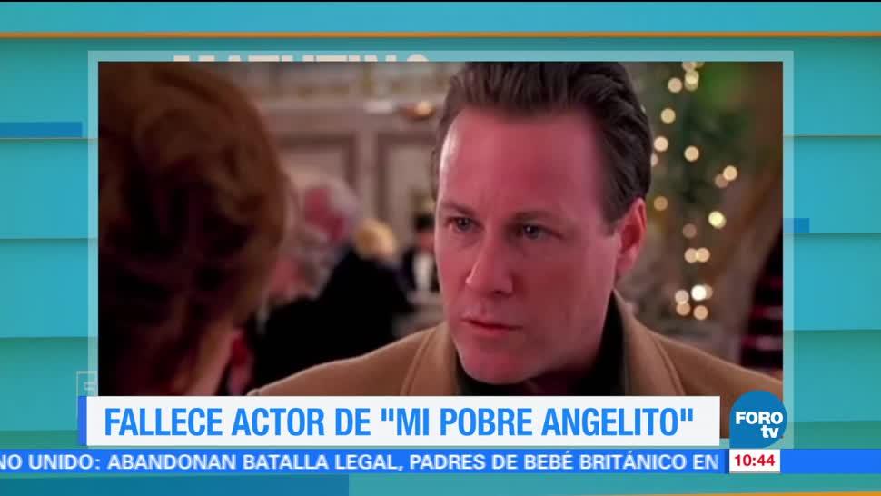 Fallece, actor, Mi pobre, angelito