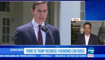 Yerno, Trump, encuentro, ciudadanos rusos