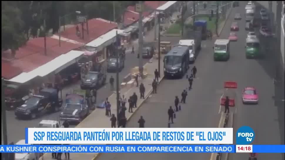 Autoridades Capitalinas Ssp Panteon El Ojos Operativo