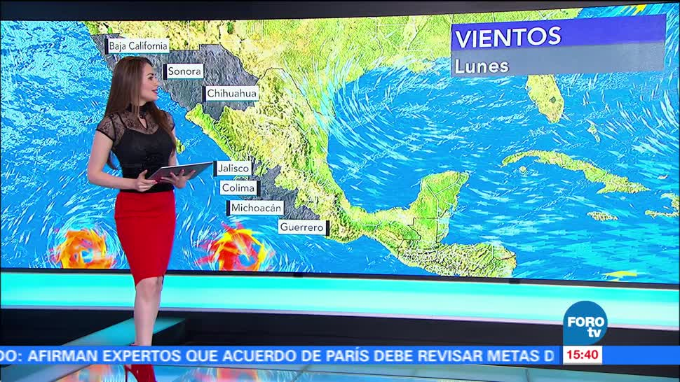 Clima Mayte Carranco Huracan Hilary