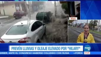 Hilary Provoca Colima Guerrero Huracan intensas lluvias