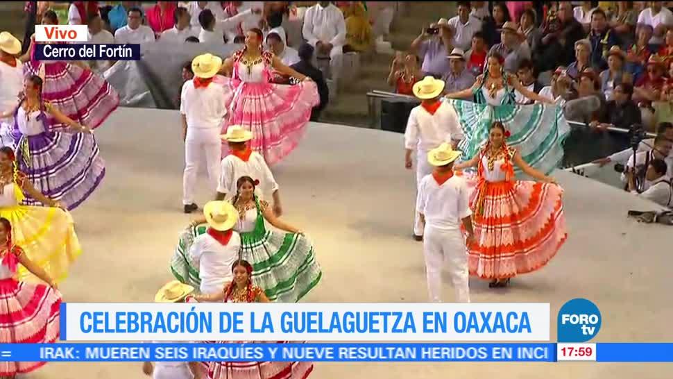 Concluye Incidentes Guelaguetza Oaxaca Celebraciones Festival Etnico