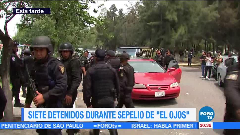Televisa News Detienen Siete Personas Sepelio El Ojos