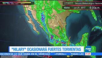 Noticias Hilary Fuertes Tormentas Costas Mexicanas