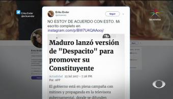 Denise Maerker Despacito Nicolas Maduro Asamblea