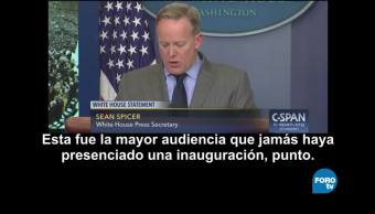 Mundo Comunicaciones Trump Fracasan Spicer Noticias
