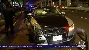 Auto, choca, Tlalpan, CDMX